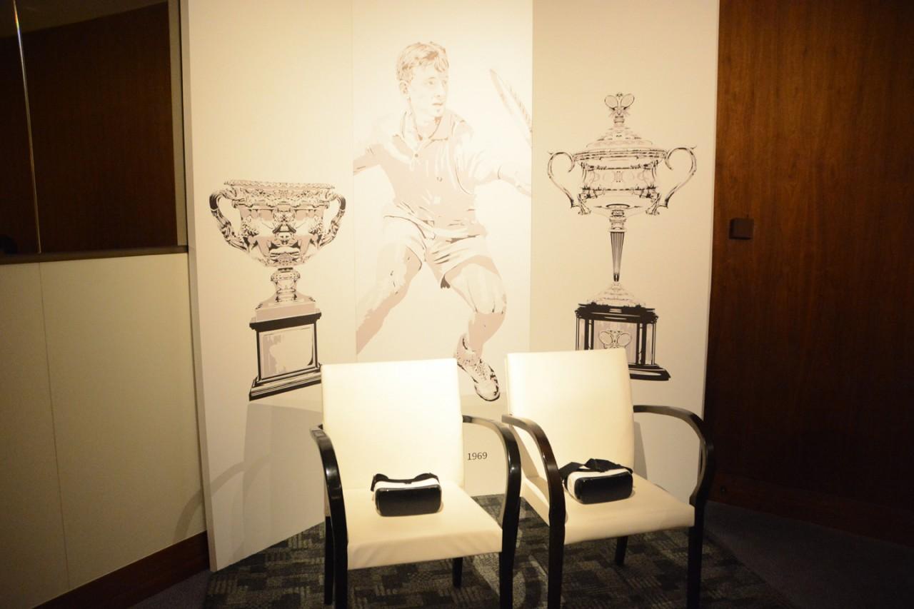 Toboggan. Inc Australian Open